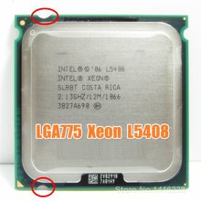 XEON L5408 2,13 GHz 12M 1066Mhz CPU igual a LGA775 Core 2 Quad Q8200 CPU trabaja en LGA775 placa base(China)