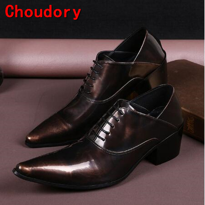 Choudory mens classic shoes deep coffee color bussiness oxford shoes for men handmade classic style italian shoes men Choudory mens classic shoes deep coffee color bussiness oxford shoes for men handmade classic style italian shoes men