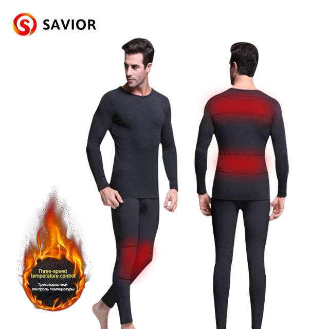 Men's heated underwear can be washed outdoor sports winter use heating clothes 3 warmth warm and comfortable hot sale