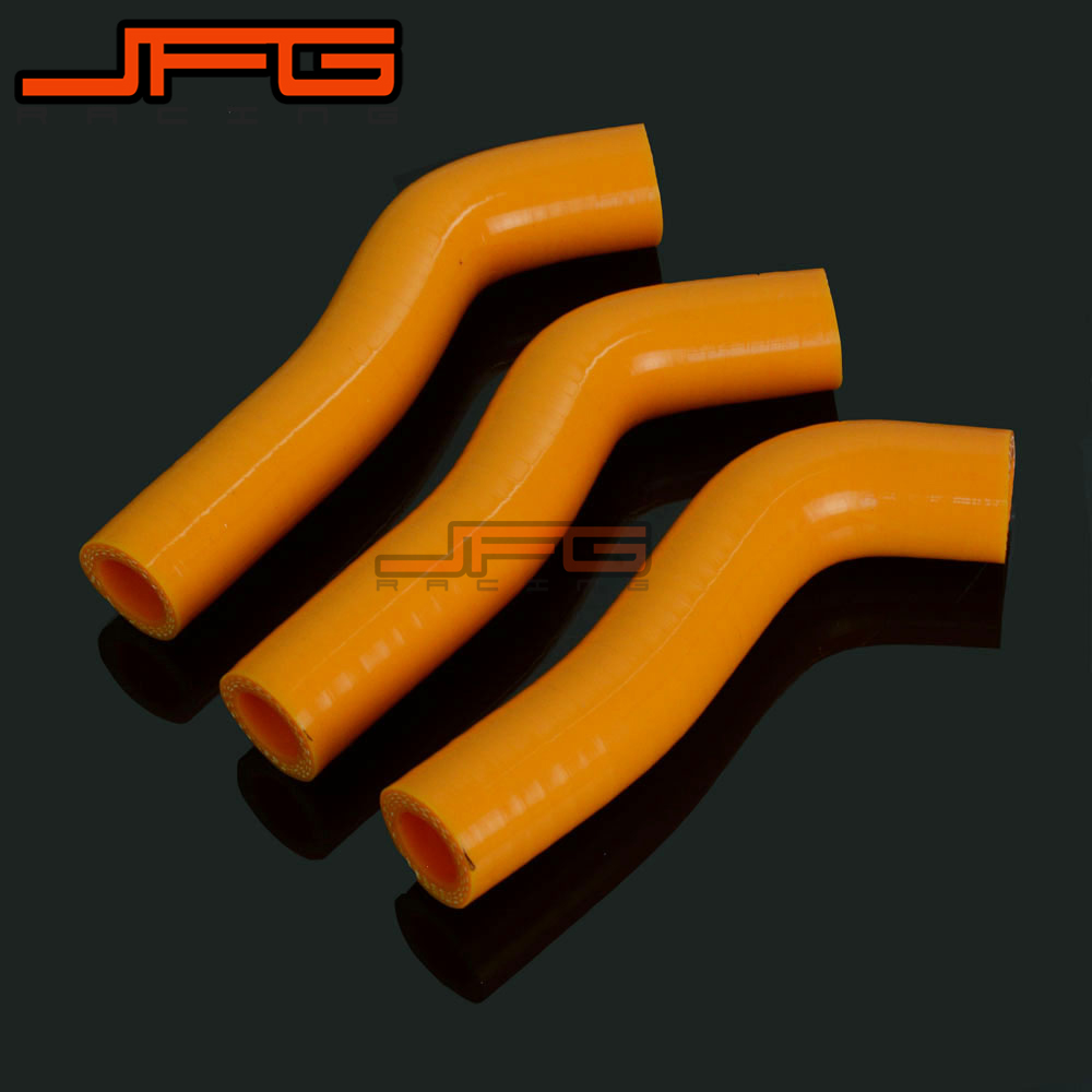 Motorcycle Silicone Radiator Coolant Hose For <font><b>KTM</b></font> 250SXF <font><b>250</b></font> <font><b>SXF</b></font> 450SXF 450 <font><b>SXF</b></font> <font><b>2007</b></font> 2008 2009 2010 Racing Offroad image