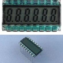 16PIN TN положительный 6-знака после запятой сегмент ЖК-дисплей Панель 3,3 V без Подсветка цифровая трубка Дисплей