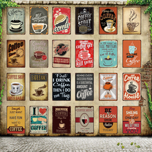 [ WellCraft ] Coffee Shop Menu House Metal Sign Posters art Vintage Mural Painting Custom Decor WW6
