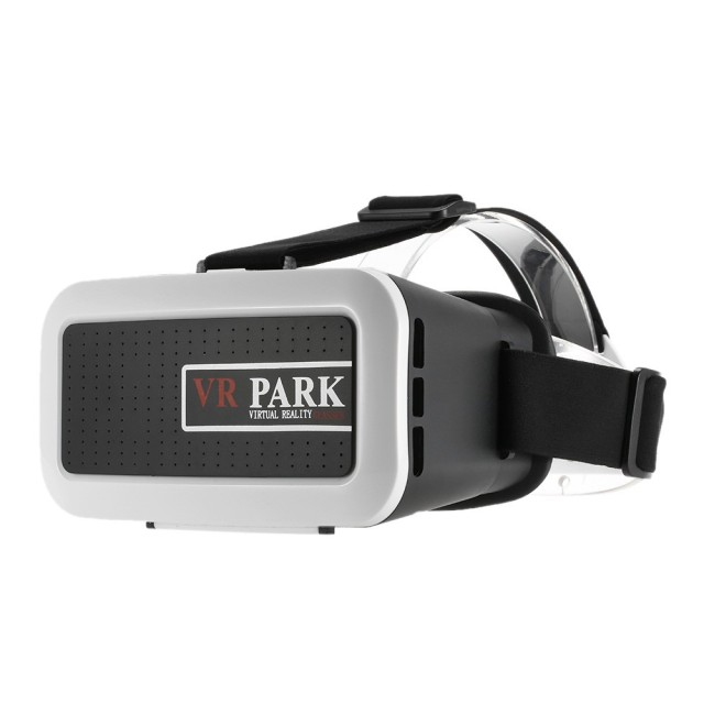 VRPARK VR Box Virtual Reality 3D Glasses Movie Game Home Theater Helmet Head mounted Black for Smart Phones