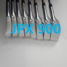 Гольф-клуб JPX900 утюги для гольфа набор кованые железные клюшки для гольфа 4-9 PG вал Обычный и жесткий гибкий