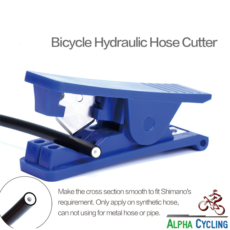 Bicycle Hydraulic Hose Cutter, Oil Pipe Tube Cutter For PVC PU Plastic Tube Hose Cutter Cut For Hydraulic Disc Brake Hose. 1 Pcs