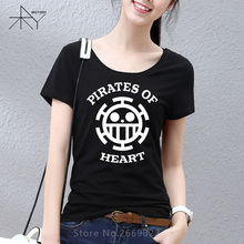 Anime One Piece Printed Women T Shirt T-shirt Fashion 2017 New Short Sleeve O Neck Cotton Tshirt Tee Camisetas Girls