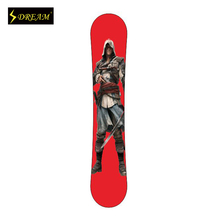 Customizable  Poplar Core Wooden Snowboards Skiing Board Outdoor Sports Equipment Freeride