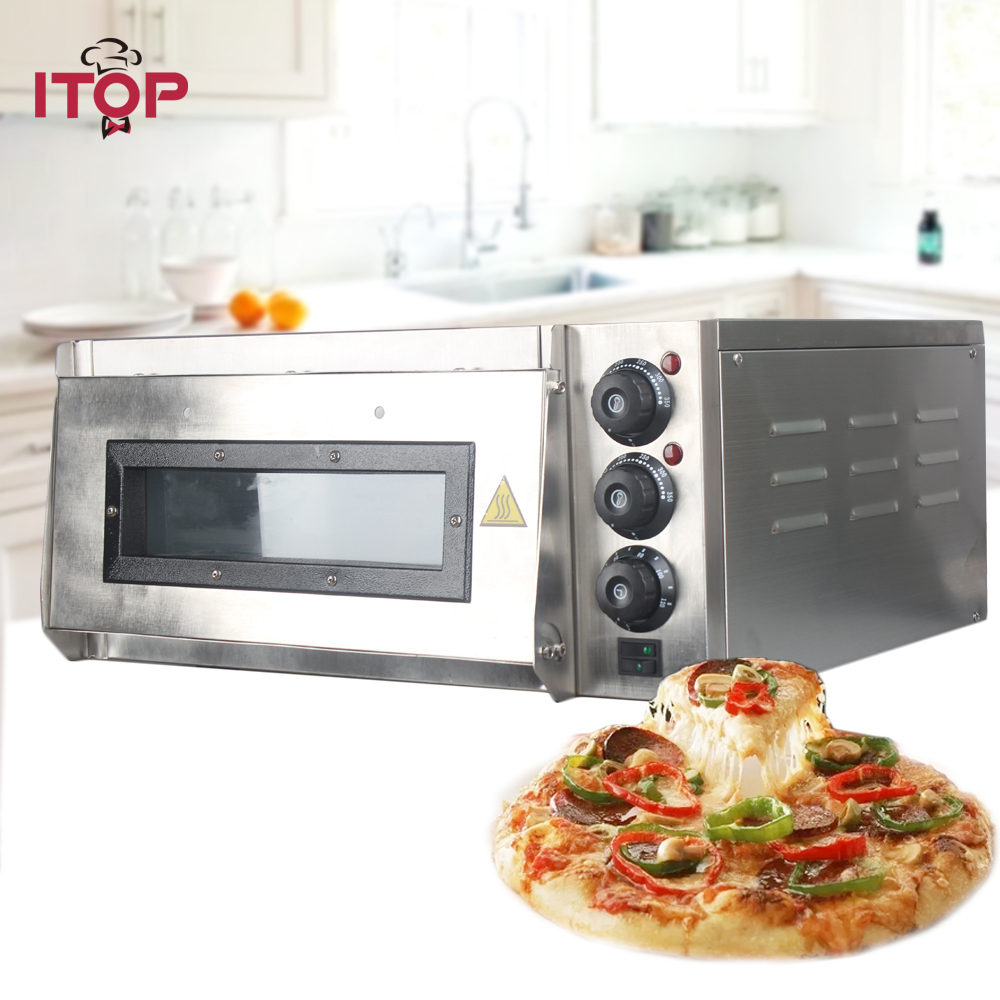 ITOP 20L Electric Pizza Oven Cake Bread roasted chicken Pizza Cooker Commercial use Kitchen Baking Ovens