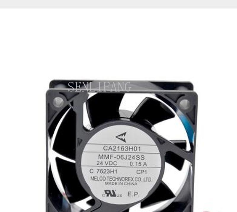 Free Shipping NEW MELCO FOR Mitsubishi Servo Frequency CA2163H01 MMF-06J24SS-CP1 0.15A Cooling Fan
