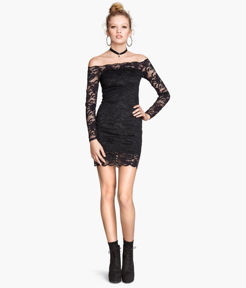 Popular Black Mid Length Evening Dresses-Buy Cheap Black Mid ...