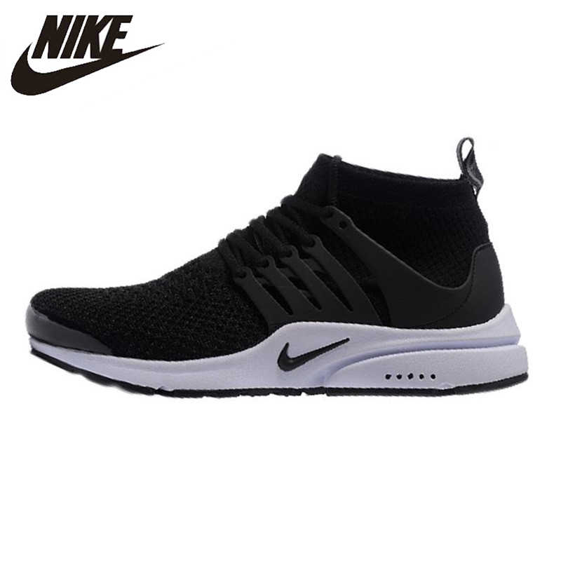 low priced dbde7 89f17 Nike Presto Flyknit Men s and Women s Running Shoes,Original Sports Outdoor Sneakers  Shoes, Black