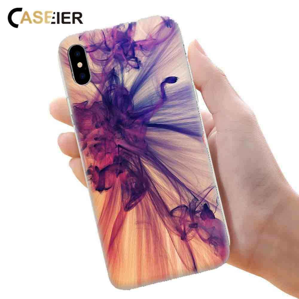 CASEIER Phone Case For Huawei P20 P20 P9 P10 Lite Soft TPU Cover For Huawei Honor 8 9 Lite Luxury Painting Patterned Cases Funda