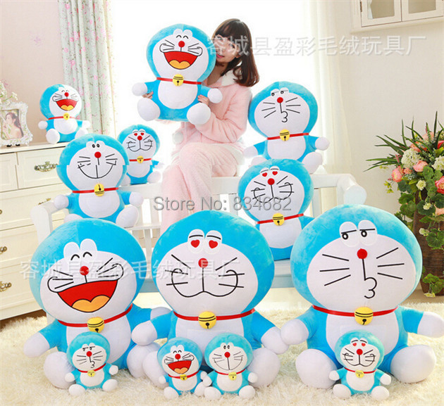 J.G Chen High Quality 50CM Anime Doraemon Plush Toys Factory Price 4 Designs Doraemon Plush Toys Free Shipping Blue Fat Cat Toy high quality plush hamburg modelling pet toys