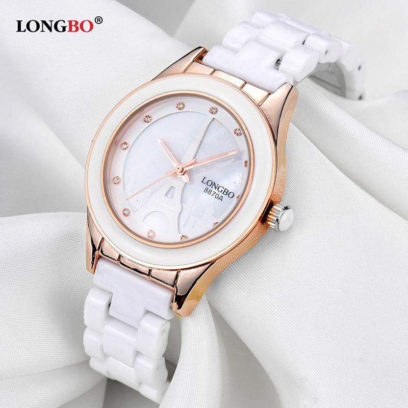 все цены на Reloj Mujer Women Watch Ceramic Watch  Casual Waterproof Couple Watches Fashion Lovers Quartz Wristwatches Female Male Gift онлайн