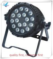 8 pieces led 18*18w 6 in 1 par light par led uv outdoor led par rgbwauv with flight case