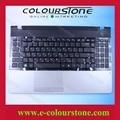 Original ruso teclado portátil para samsung 300e5a np300e5a teclados ru negro con tapa c