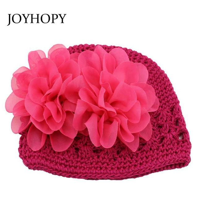 Hecho a mano caliente princesa flor bebé sombrero para Niñas ...