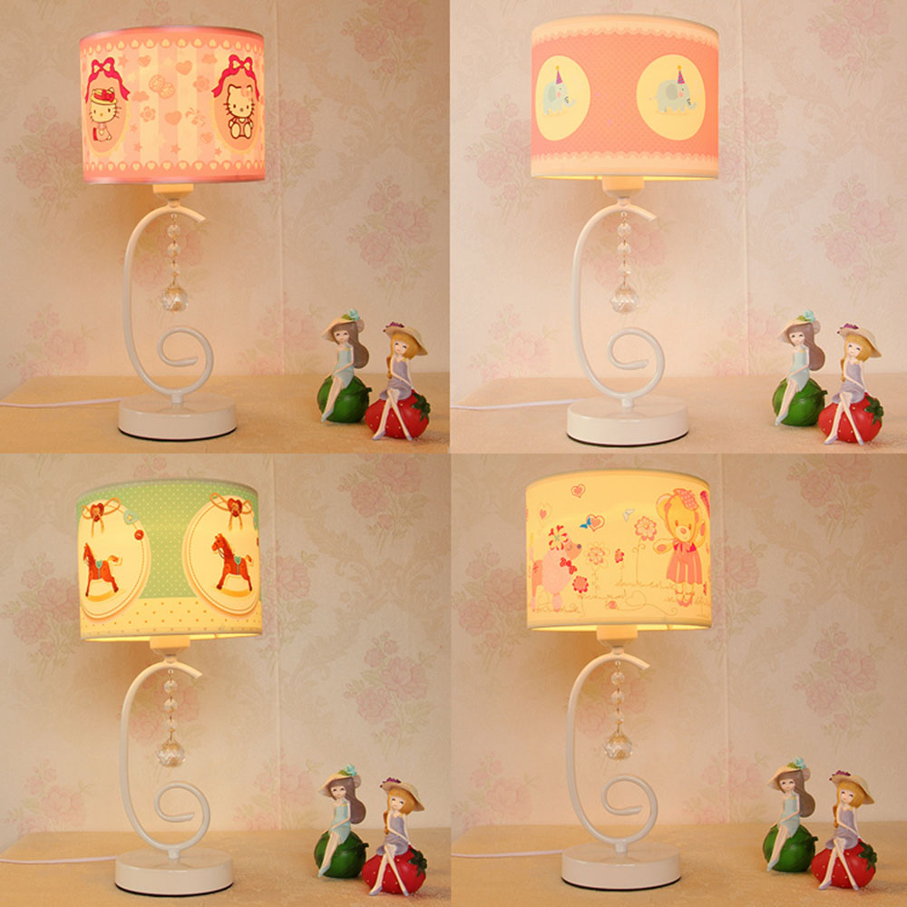 Lights Table Lamps LED Mini Touch Switch Lamp Table Luminaria Contemporary Cloth Cute Girls Read Study Table Lamps Switch Button read room led lamp e27 table lamps study mini touch switch 110 220v contemporary green cloth desk lights luminaria