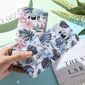 Image 2 - KISSCASE Colorful Tropical Leaves Phone Case For Huawei Mate 20 Lite P Smart P20 Pro Slim PC Cover For Huawei Honor 8X Fundas