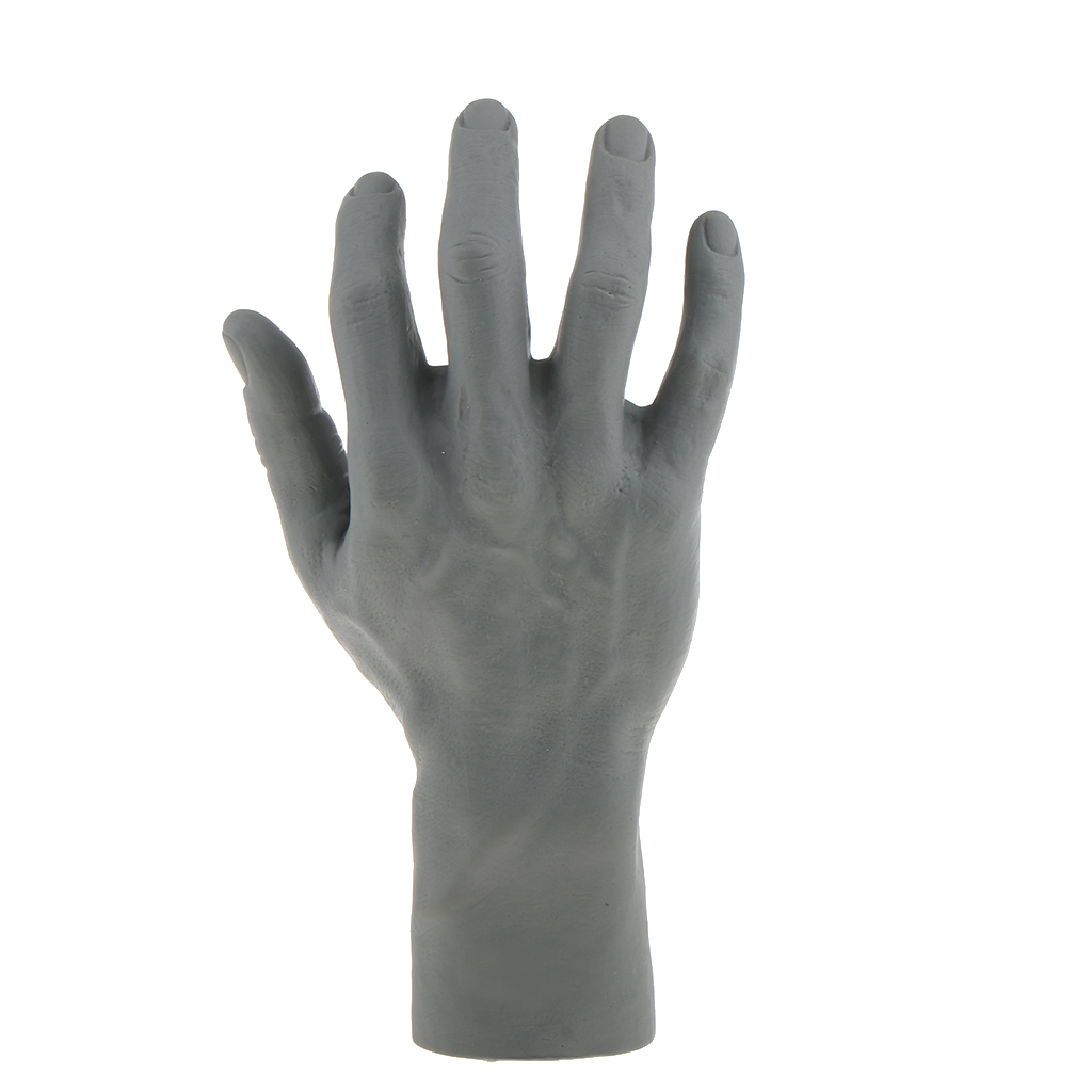 Male <font><b>Mannequin</b></font> Right <font><b>Hand</b></font> For Jewelry <font><b>Bracelet</b></font> Watch Glove <font><b>Ring</b></font> Display image