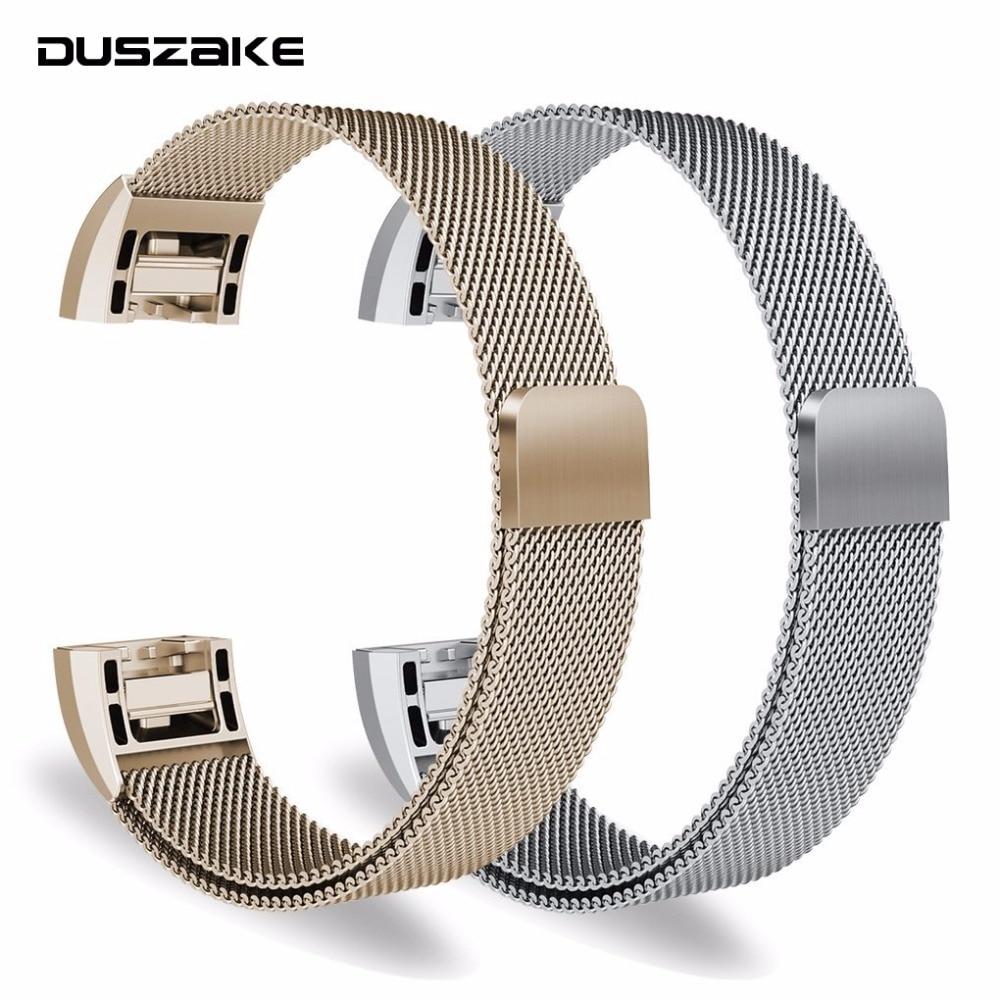 Bandas de substituição Para Fitbit Carga 2 Band Relógio Inteligente Pulseira Pulseira Para Fitbit Carga 2 Acessórios Em Aço Inoxidável Pulseira