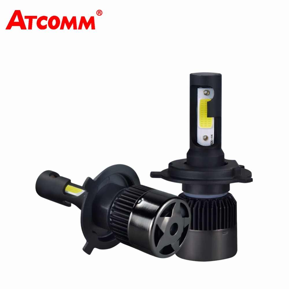 H4 H7 H11 H1 LED Car Light Bulb 12V Mini Auto Headlamp COB 6500K White 72W 8000Lm 24V 9005/HB3 9006/HB4 LED Automobile Ampoule