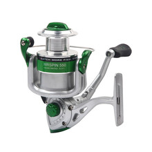 Triclicks Sea Spinning Fishing Reel 5.3:1 Metal Spool Folding Arm Saltwater