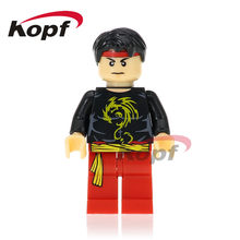 Single Sale Super Heroes Shang-Chi Master of Kung Fu Jane Foster Viper Fandral Malekith Building Blocks Toys for children XH 742(China)