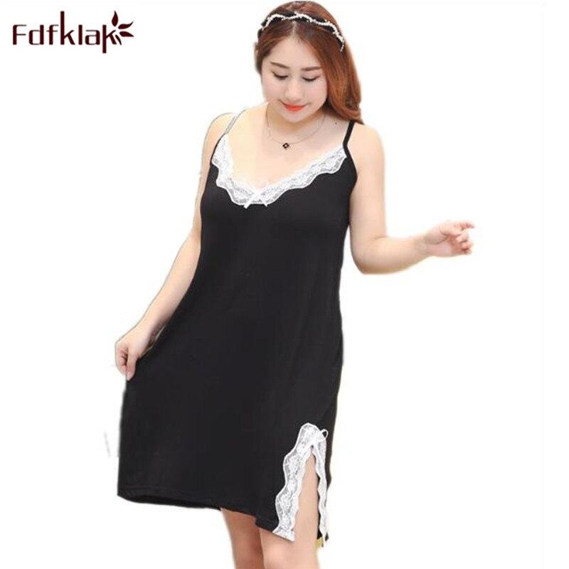 XXL-5XL Plus Size 2017 Sexy Silk Satin Lingerie Nightgown Set Large Size Nightgowns Long Sleepwear Womens Lingerie Black E1183