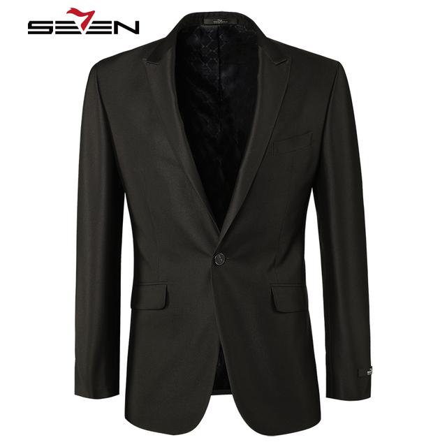 Seven7 Brand New 2018 Masculine Blazer Mens Suit Jacket Coat Slim Fit Male Formal Casual Blaser Men For Prom Wedding E99C1314