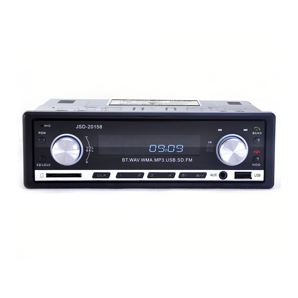 Image 5 - JSD 20158 1 Din Car Audio Auto Radio Stereo Music Bluetooth MP3 Player FM Tunner Autoradio AUX Input Radios  USB Charger Port-in Car Radios from Automobiles & Motorcycles