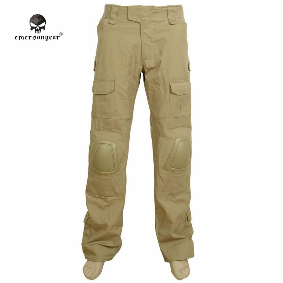 все цены на  Emerson G2 Tactical Pants with Knee Pads Airsoft Combat Training Pants Integrated Battle Pants Hunting Combat Trousers EM6987  в интернете
