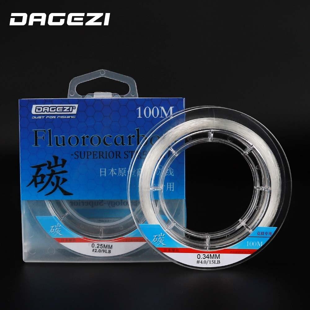 DAGEZI 100% fluorescentna ribolovna linija monofilamentna linija - Ribarstvo - Foto 5