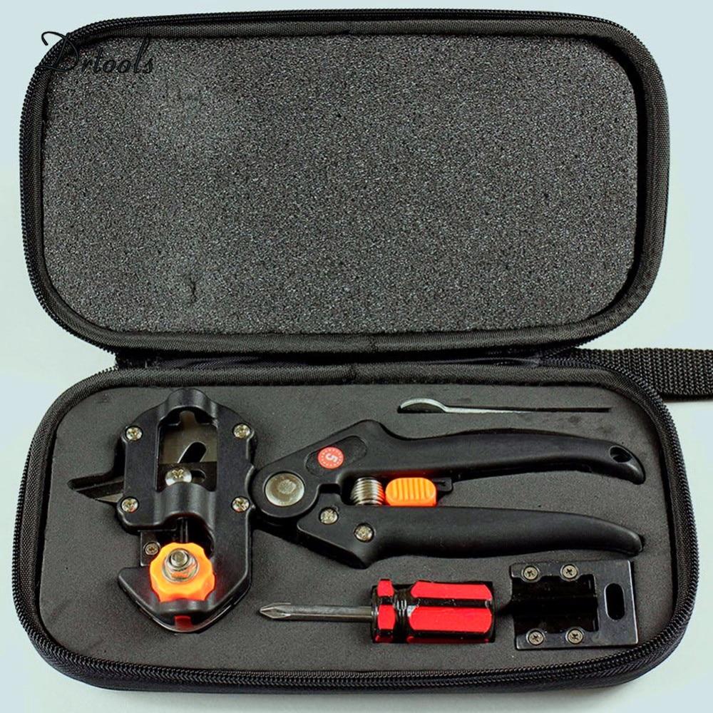 Poda corte cajas injerto tijeras poda jardín máquina de corte + 2 herramientas de jardín
