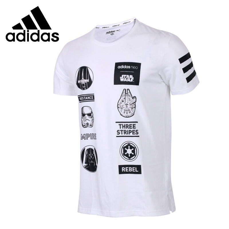 Original New Arrival Adidas NEO Label SW TEE 4 Men s T shirts short sleeve Sportswear