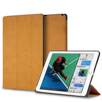 For IPad Pro 10 5 2017 Case Rock PU Leather Ultra Slim Light Weight PC Back