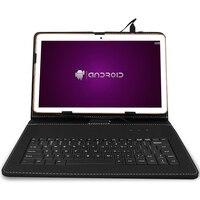 Ibopaida Планшеты PC 9.7 Android 6.0 16 ГБ/32 ГБ двойной cam IPS экран Две сим карты BT w /10 клавиатура