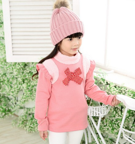 e794d0b33 winter girls sweatshirt Thick cashmere is not inverted kids hoodies ...