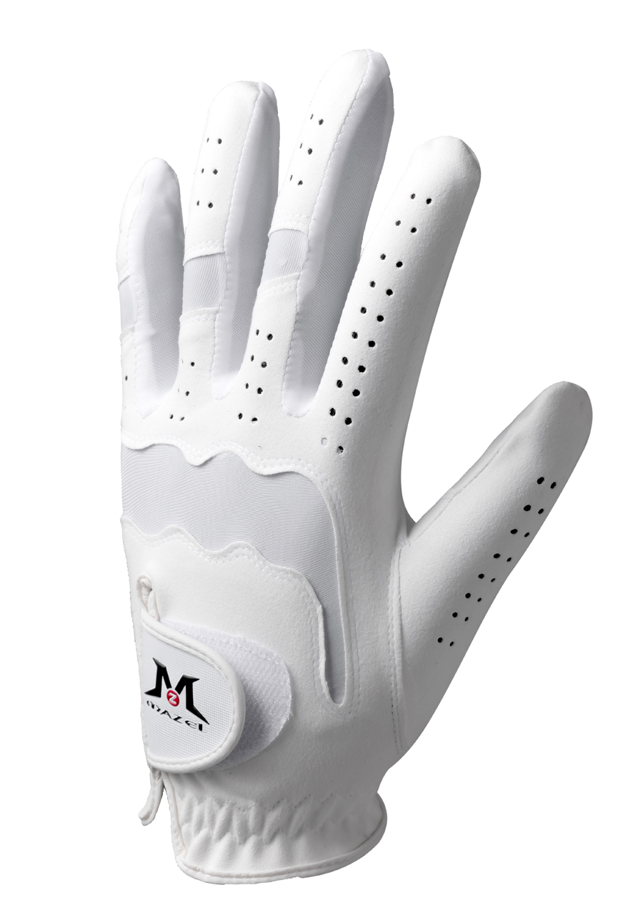 MAZEL Premium Men's Golf Gloves Left Hand,Hot Wet Weather Sweat-Absorbing