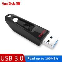 SanDisk CZ48 USB 3,0 Flash Drive 256GB Pen Drive 128GB USB 3,0 Memory Stick 64GB U Disk 32GB 16GB USB Schlüssel Lesen Geschwindigkeit bis zu 100M/s