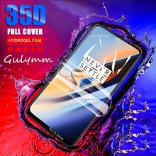 Ultra-thin Soft Hydrogel Film For Oneplus 5 5T 35D Full Cover Screen Protector 6 6T 7 7Pro  Protective