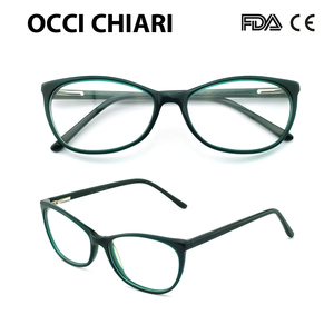 Image 5 - Free Shipping Fashion Acetate Eyewear HandMade Prescription Lens Medical Optical Eyeglass Woman And Men Frame ZOU