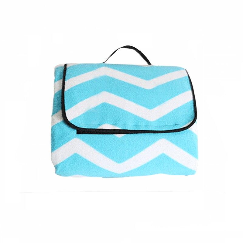 Image 4 - Outdoor Moistureproof Beach Blanket Mat Foldable Camping Mat Pad Picnic Mat Pad Blanket Indoor Baby Crawling Blanket Pad-in Camping Mat from Sports & Entertainment