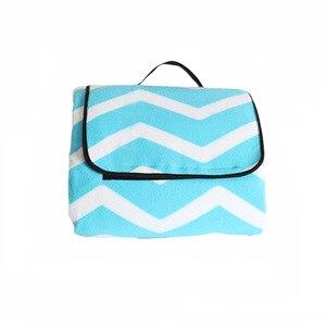 Image 4 - Outdoor Moistureproof Beach Blanket Mat Foldable Camping Mat Pad Picnic Mat Pad Blanket Indoor Baby Crawling Blanket Pad