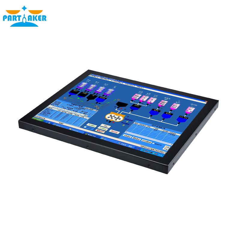 Купить с кэшбэком 19 inch Intel Core i7 3537U Wall Mount Industrial Embedded Touch Panel PC for Automation System Partaker Z16 4G RAM 64G SSD