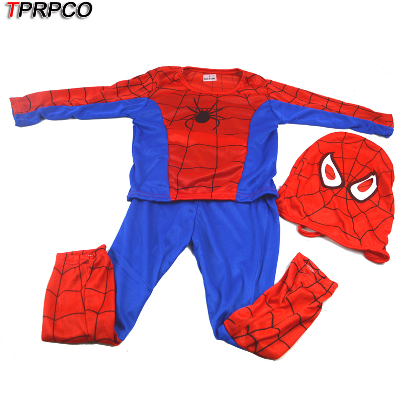 TPRPCO spider man costume spiderman suit spider-man costume child NL646