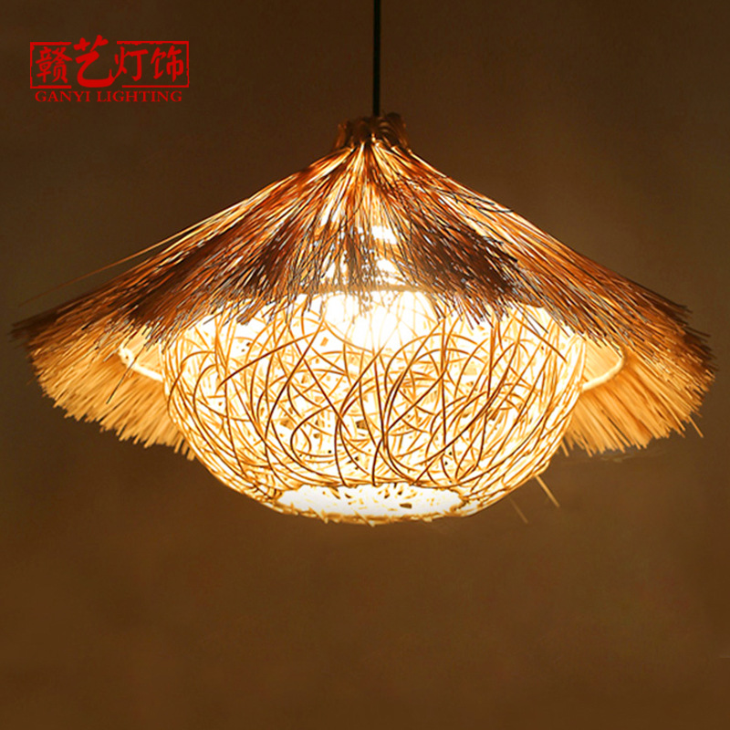 birds nest, chandelier, courtyard, Southeast Asia, rattan, lantern, restaurant, farmhouse, retro bird nest, lighting.birds nest, chandelier, courtyard, Southeast Asia, rattan, lantern, restaurant, farmhouse, retro bird nest, lighting.