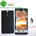 Original lt26 Full Housing For Sony Xperia S LT26i LT26 Battey Back Case Cover Middle frame Housing With Button Tracking