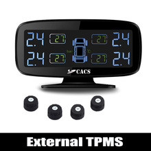 Wireless Tire Pressure Monitoring System TPMS for Car with Externall Sensors / High Pressure High Temperature Fast leakage Alarm