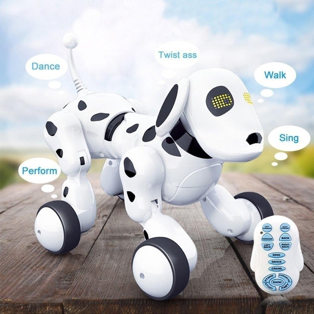 Intelligent Télécommande Chien Chant et Danse Robot Chien Électronique Animal Intelligent L'éducation Jouet pour les Enfants Cadeau D'anniversaire Cadeau - 4